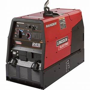 Lincoln Electric Ranger 225 Multi Welder Generator With Kohler 23 Hp Gas Engine And