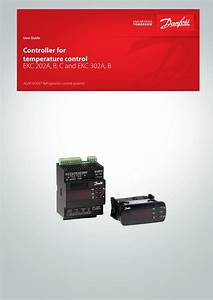 Danfoss Controller For Temperature Control