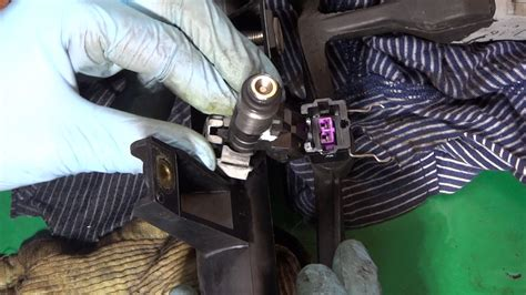 peugeot tu misfire fuel injector replacement youtube