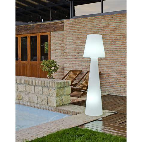 Le Halogène Sur Pied Design by Ladaire Ext 233 Rieur Lola 165 Cm E27 Blanc Newgarden