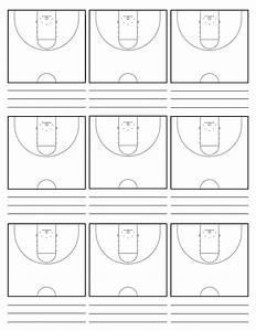 Custom Court Diagram Sheets