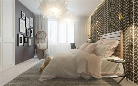 Bedroom Decor by A Pair Of Childrens Bedrooms With Sophisticated Themes