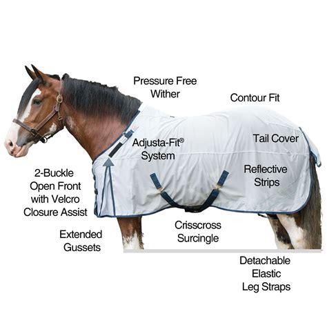 draft fly sheet mesh soft sstack horses