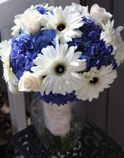 35 Gorgeous Blue Bouquets Weddingbells