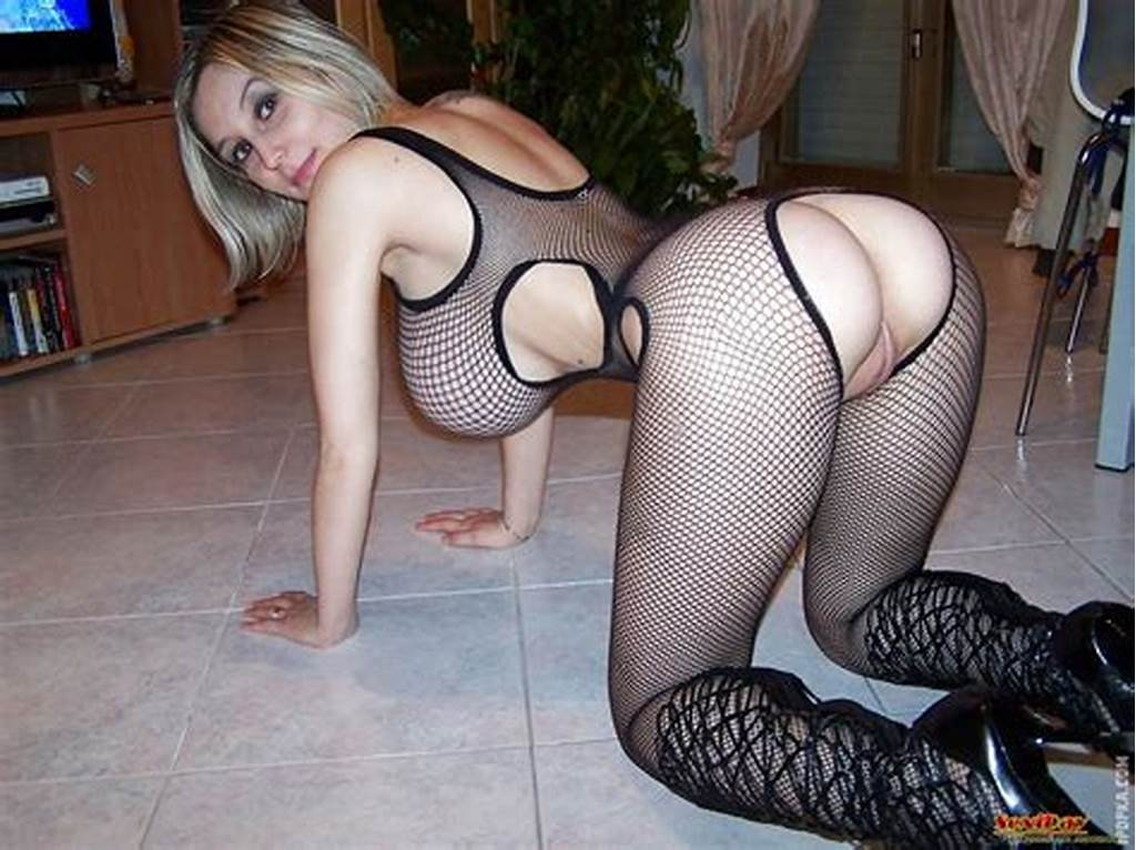 #Busty #Babe #With #A #Fat #Pussy #In #A #Fishnet #Body #Suit