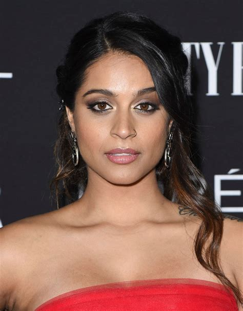 lilly singh vanity fair loreal paris celebrate  hollywood