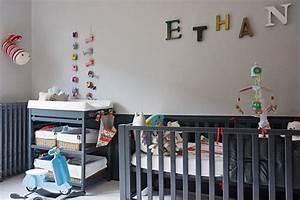 Aménager Chambre Bébé Dans Chambre Parents : am nager et d corer la chambre de b b voir ~ Zukunftsfamilie.com Idées de Décoration