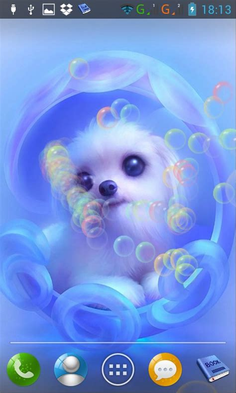 cute animals lwp android app  apk  angkor