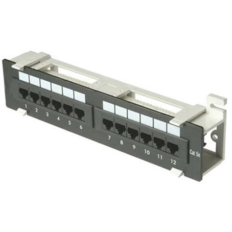Patch Panel 12 by Zpp12 We 12 1u Patch Panel Cat5e 110 T568a Or