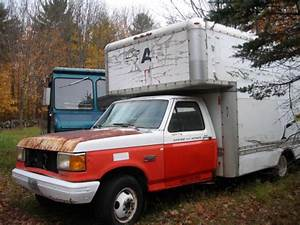 1990 Ford F350 Cab And Chassis With 7 3 Diesel With