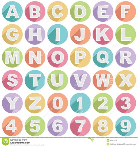 set of alphabet letters and icons for alphabet design alphabet icons stock vector image 42074539 39852