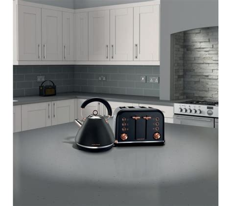 buy morphy richards accents   slice toaster black