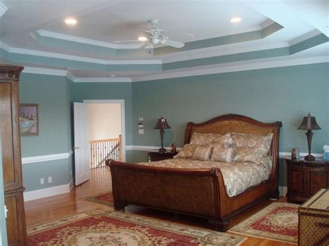 Bedroom Double Tray Ceiling Design