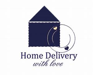 Home Delivery - with love Designed by Jassa | BrandCrowd