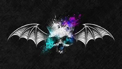 Say Never Die Death Bat Skull Wings