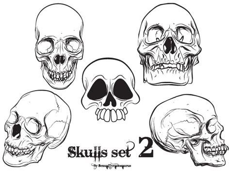 set skull free vector skull clipart 74