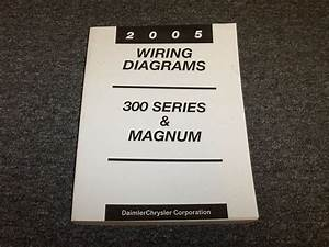 2005 Chrysler 300 Sedan  U0026 Dodge Magnum Wagon Electrical Wiring Diagram Manual