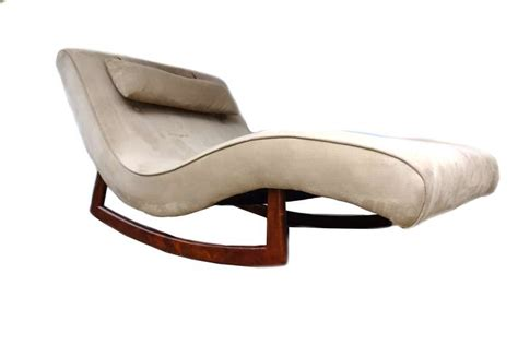 chaise rocking chair adrian pearsall craft associates lounge chair rocking