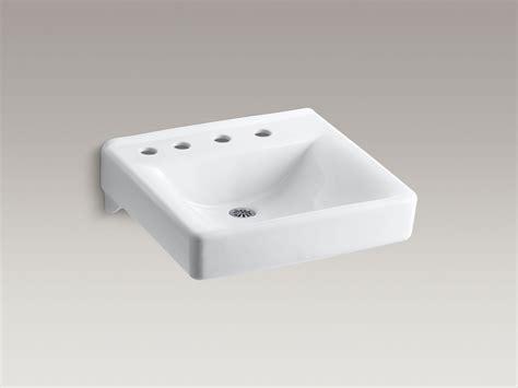 kohler wall hung sink standard plumbing supply product kohler k 2053 nl 0