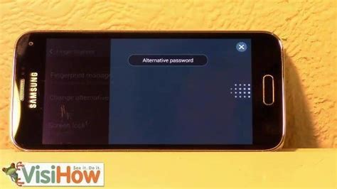 lock  unlock samsung galaxy ss screen