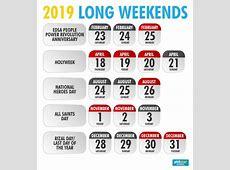 Infographic Philippine holidays for 2019 Philstarcom
