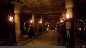 Egyptian Throne Room - Jenny Bermas