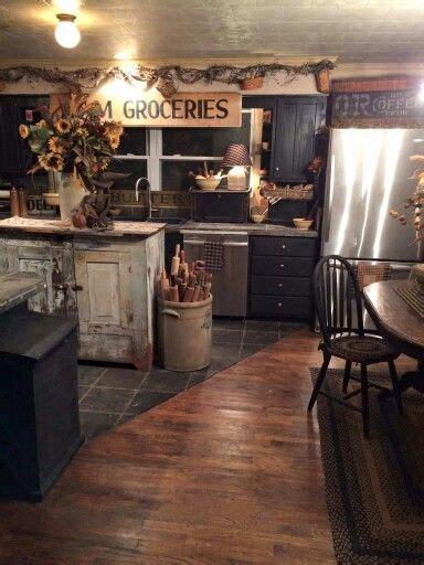 Primitive Kitchen Decor - 25 best ideas about primitive kitchen on