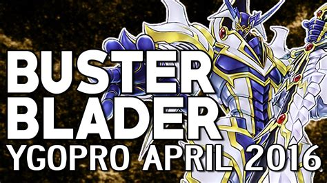 Buster Blader Deck 2017 Ygopro by Buster Blader Deck Ygopro April 2016