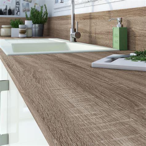 plan de travail cuisine stratifié leroy merlin plan de travail droit stratifié chêne grisé 315 x 65 cm