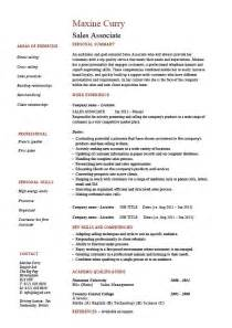 resume template for customer service associates resumes for college sales associate resume selling exles sle retail store merchandising skills work