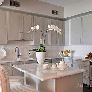 light taupe kitchen cabinets transitional kitchen With kitchen cabinets lowes with taupe wall art