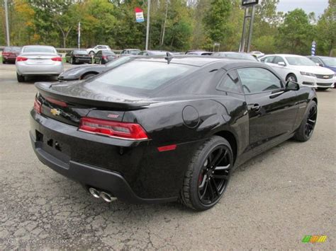 2015 Black Chevrolet Camaro Ss/rs Coupe #97971425 Photo #6