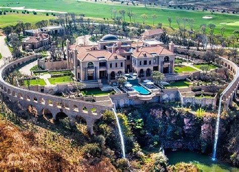 incredible newly built  square foot mega mansion