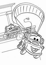 Coloring Cars Mater Disney Tow Printable Pixar Colorear Mcqueen Dibujos Colorare Sheets Kleurplaat Character Staggering Simpatica Ibambini Cartoon Wonderful Kleurplaten sketch template