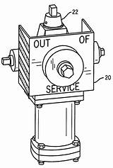 Hydrant sketch template