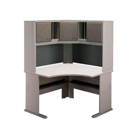 48 inch computer desk with hutch bush bbf series a 48 quot corner w hutch pewter computer desk