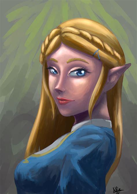 Princess Zelda by Glasses221 on Newgrounds