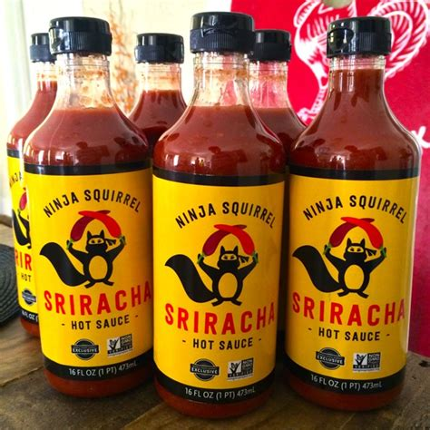 ninja squirrel sriracha review interview with the