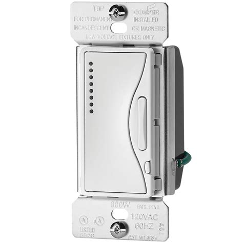 Shop Cooper Wiring Devices Aspire Amp Watt Alpine