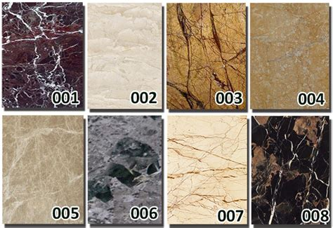 the difference between granite and marble