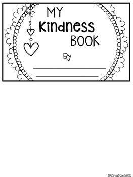 kindness flip book freebie  karen jones teachers pay