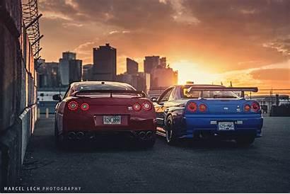 R34 Skyline Nissan R35 Gt Gtr Desktop