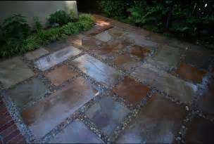 beautiful pebble patio flooring pebble patio flooring in pebble floor style floors