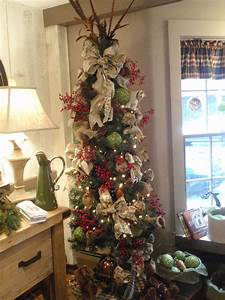 40, Awesome, Christmas, Tree, Decorations, Ideas, With, Burlap