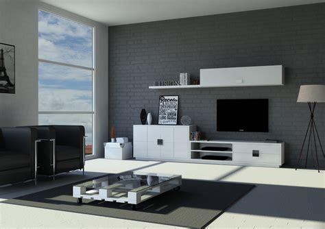salon minimalista de original diseno en blanco  acero