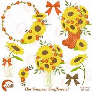 Wedding Video Templates Sunflower Clipart Frames 1434 Illustrations Creative