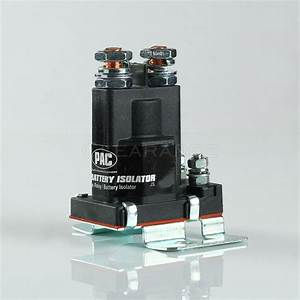 High Current Relay Dual Battery Isolator 80 Amp For Multi