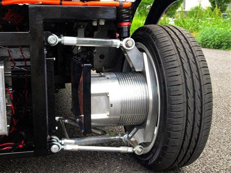 Electric Motor System by Wireless In Wheel Motor System Developed For Electric