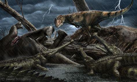 carcharodontosaurus  elosuchus national geographic