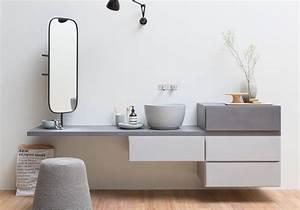 nos idees avec des meubles de salle de bains design elle With meuble salle de bain contemporain italien
